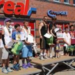 Sieger un Platzierte beim Turnier in Schwedt