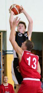 Basketball Eisenhüttenstadt, EBV - WSG,  Marc-Rene´ Raue    FOTO BENK 23.10.2016
