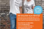Liebe Vereinsmitglieder, Ing-DiBa gibt unserem Verein die Möglichkeit, unsere Finanzen etwas aufzubessern. Dazu müsst Ihr nur für uns stimmen. Viel Erfolg. Hier der Link dazu: www.ing-diba.de/verein/app/club/societydetails/5b679fc3-769d-49b0-8f4d-4d7fde7ffa50